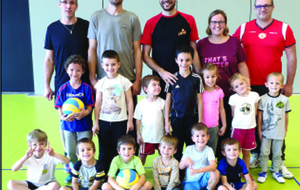 BABY VOLLEY : RESUME DE LA SAISON