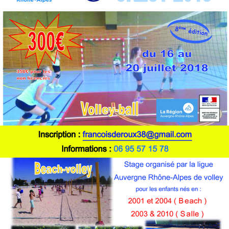 AFFICHES STAGES LIGUE